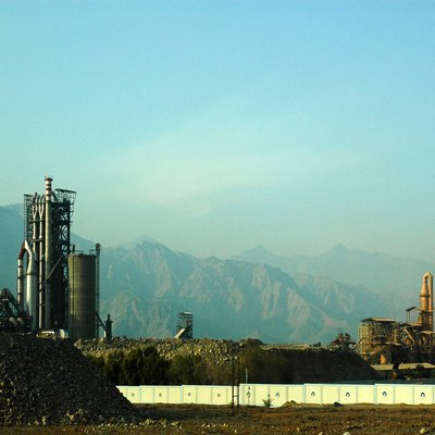 Cement Factory in Dibba AL Hisn, Fujairah, UAE