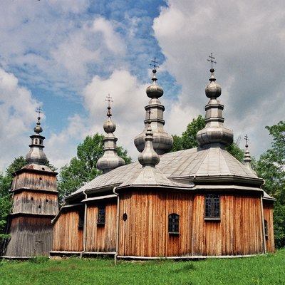 St. Michael Archangel'S Tserkva, An Orthodox Church In The Carpathian Region Of Poland