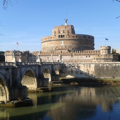 Castel Sant'Angelo, Where Pope Alexander Vi Is Locked.