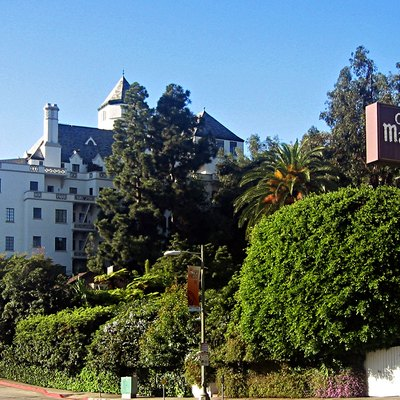 Chateau Marmont Hotel — On The Sunset Strip In West Hollywood, California.