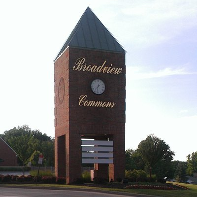 Broadview Commons Shopping Center in Broadview Heights, Ohio, June 2014