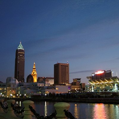 Skyline of Cleveland, Ohio, 2003