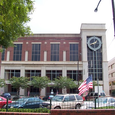 Cobb County Courthouse, Marietta, Georgia. Taken September, 2006.