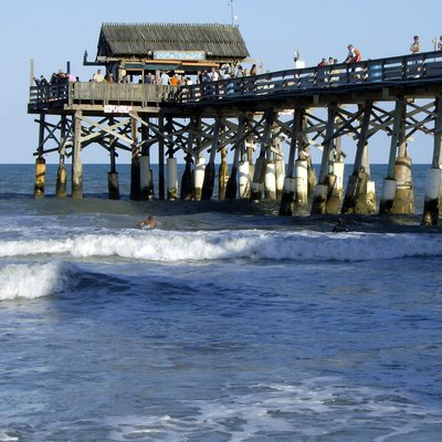 Cocoa Beach Pier, built in 1962
