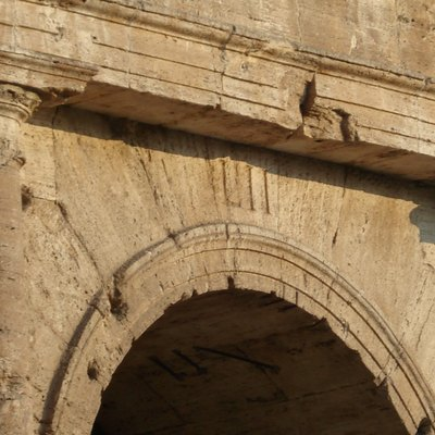 Image of Entrance LII of the Colosseum, Rome