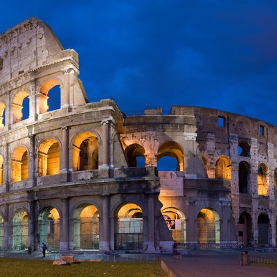 The Colosseum in Rome, built c. 70 – 80 AD, is considered one of the greatest works of architecture and engineering of ancient history.