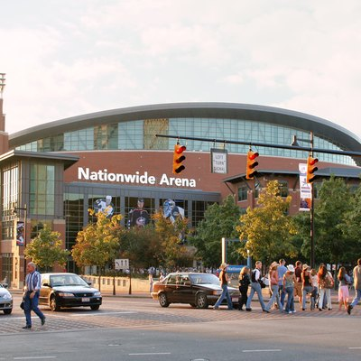 Nationwide Arena, Home Of The Nhl'S Columbus Blue Jackets, Arena District