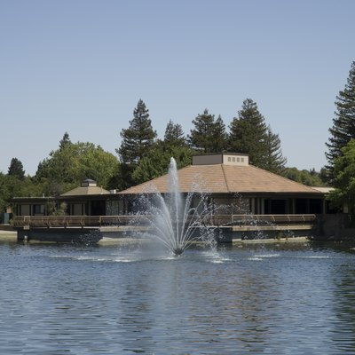 Community Center at Heather Farm Park in Walnut Creek, California.