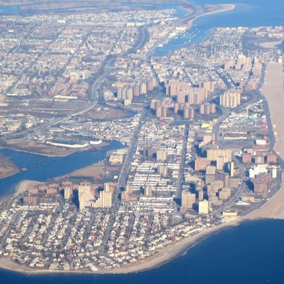Coney Island from the air.