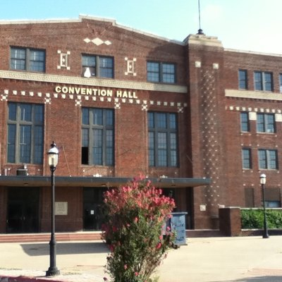 Convention Hall in Enid, Oklahoma.