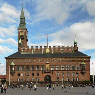 Copenhagen City Hall, Denmark.
