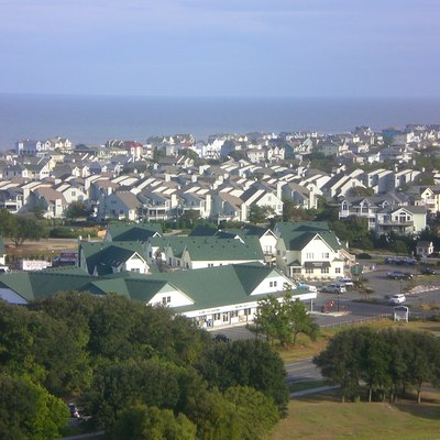 Corolla, North Carolina - view from the lighthouse