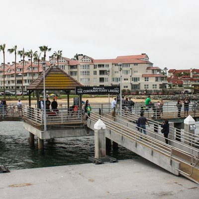 The Coronado Ferry Landing, Coronado Island, California
