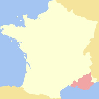 County of Provence.
