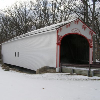 Crown Point Covered Bridge, Lake County Fairground, Crown Point, Indiana