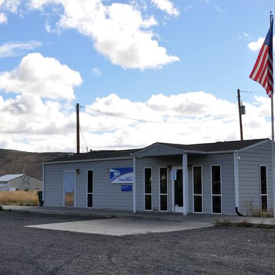 Post office in Crane in the U.S. state of Oregon