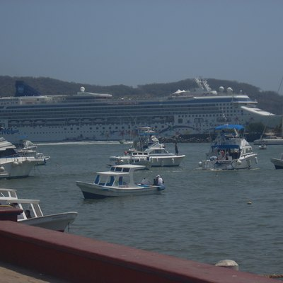 The Norwegian Star in Ixtapa Mexico