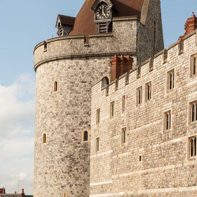 Curfew Tower, part of Windsor Castle.