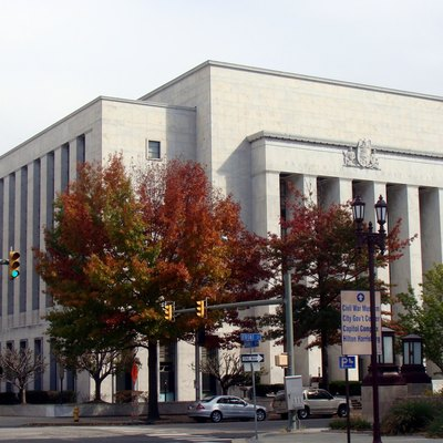 The Dauphin County Courthouse in Harrisburg, Pennsylvania.