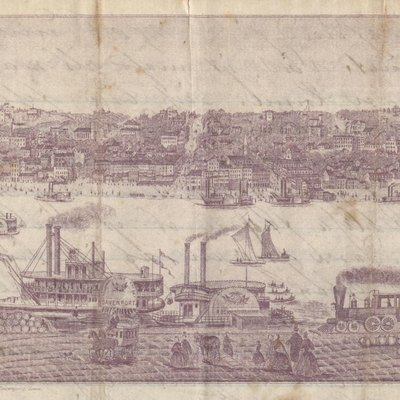 Litho of Davenport Iowa
