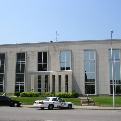 Daviess County Courthouse, at Owensboro, Kentucky, United States.
