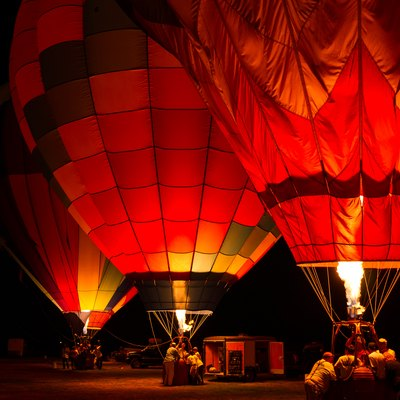 Sonoma County Hot Air Balloon Classic in Windsor, California. Dawn Patrol on Sunday, June 17, 2012.