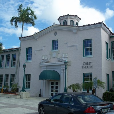 Delray Beach, Florida: Old School Square: Crest Theatre
