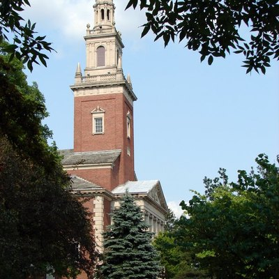 Swasey Chapel of Denison University, in Granville, Ohio, United States.
