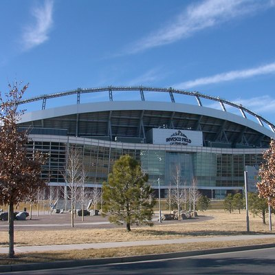 Invesco field at Mile High, home of Denver Broncos NFL team