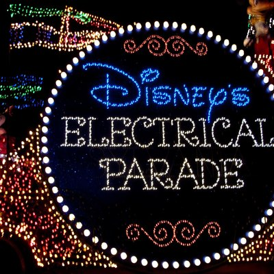 Disney's Electrical Parade at Disney's California Adventure on August 16, 2009.