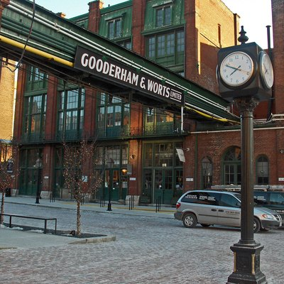 Distillery District, Toronto, Canada