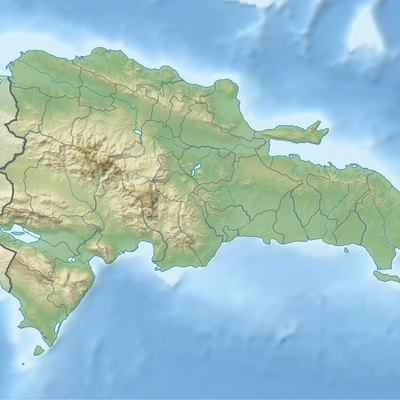 The Dominican Republic's topography.
