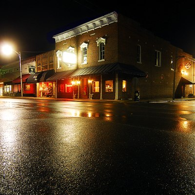Historic downtown Russellville