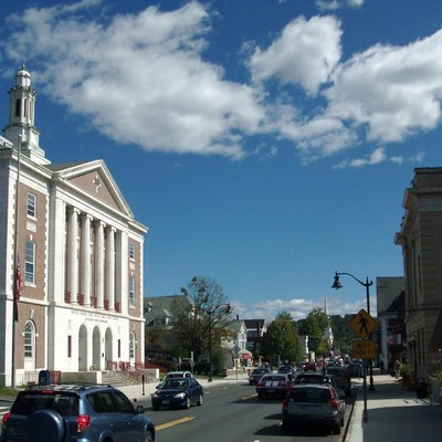 Main Street, Downtown Littleton, New Hampshire