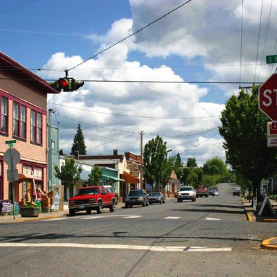 Downtown Ridgefield, Washington