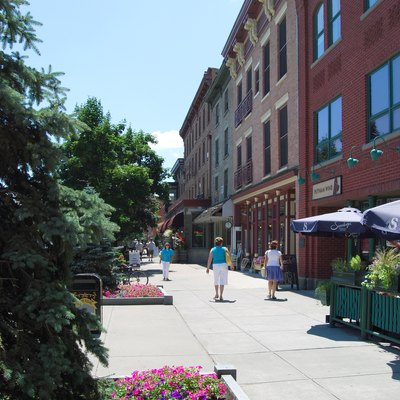 Downtown Saratoga Springs, New York, United States
