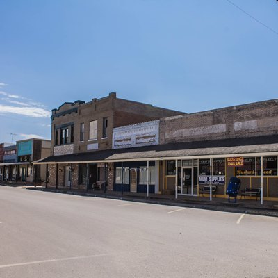 Downtown Whitney, Texas