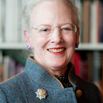 Portrait of Queen Margrethe of Denmark (cropped)