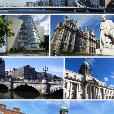 A collection of images of Dublin.