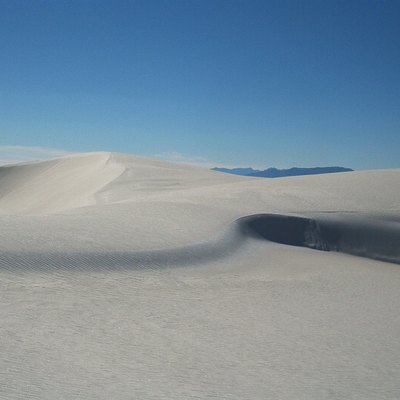 Dunes at White Sands National Monument, New Mexico, USA.