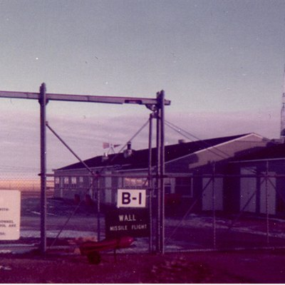 An earlier photo of Launch Control facility Bravo-01 which was approximately 4 miles west of Wall, South Dakota