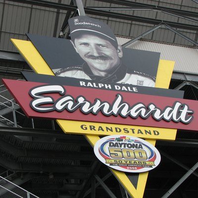 Ralph Dale Earnhardt Grandstand at Daytona International Speedway
