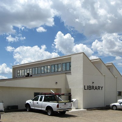 Edgewood (New Mexico) Public Library, located at 95 Highway 344 North.