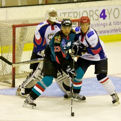 Edinburgh Capitals vs. Belfast Giants, 2009.