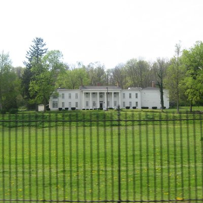 Overview of Elmhurst, located on the western side of State Road 121 on the southern edge of Connersville, Indiana, United States. Among its residents have been James N. Huston, Samuel W. Parker, Caleb Blood Smith, and Oliver H. Smith. Built in 1831, it is listed on the National Register of Historic Places.