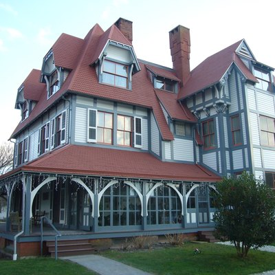 Emlen Physick Estate, Cape May, New Jersey, Usa (Exterior). Built 1879. Architect: Frank Furness.