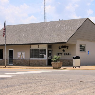 City Hall in Emory, Texas, United States