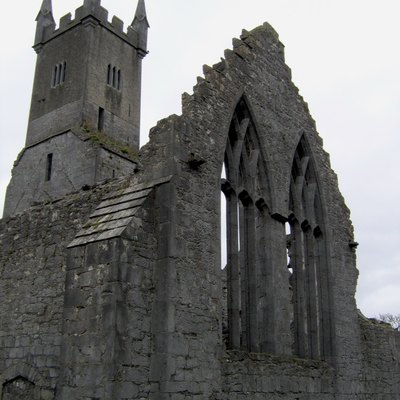 Ennis Friary, Ennis, County Clare, Republic of Ireland.