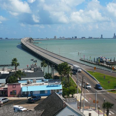 Entrance to South Padre Island