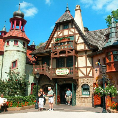Germany pavillon at EPCOT Center